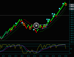 Renko Chart Emini Russell Future Day Trading